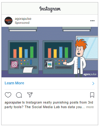 instagram ads image from the Lab