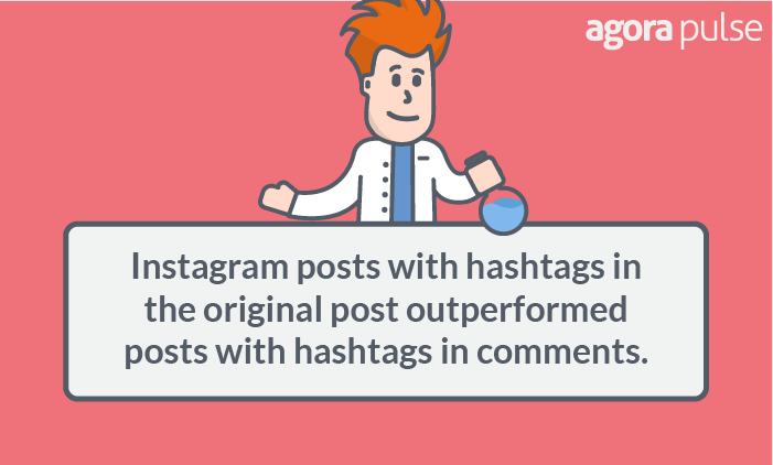 instagram hashtags in post