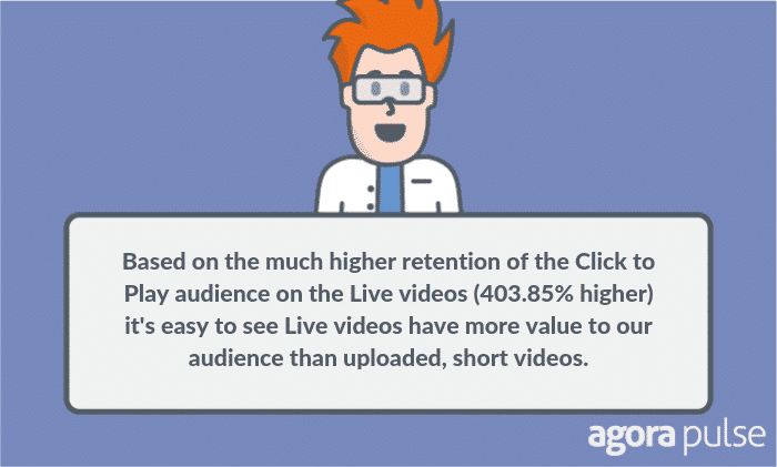 video retention rates