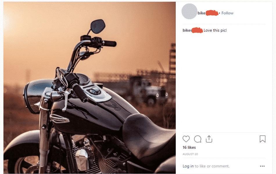bikes on instagram