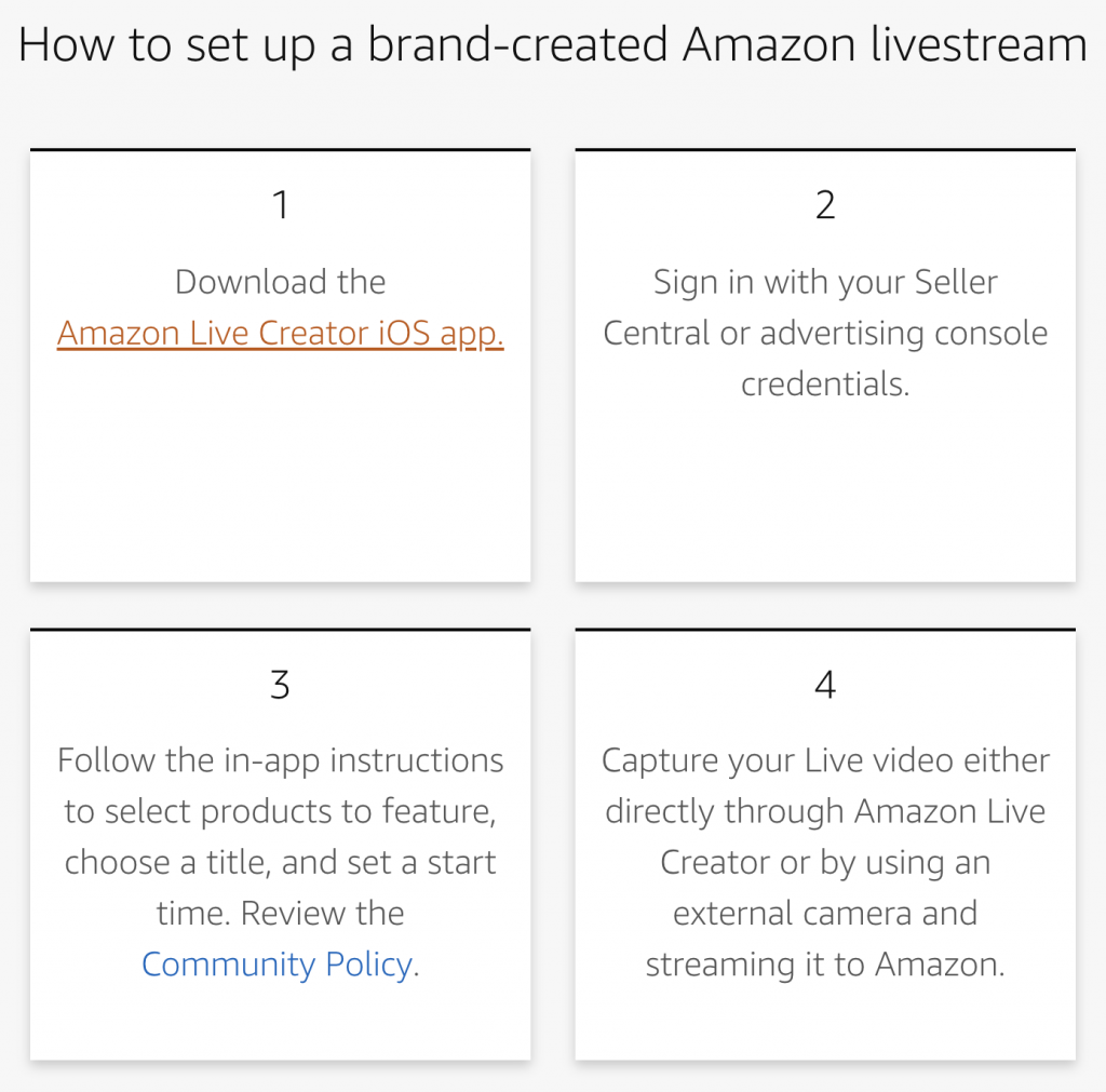 How to setup a branded channel on Amazon Live