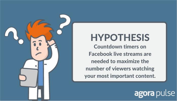 Facebook countdown timer