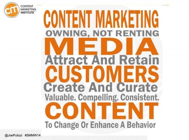 Define tu misión de marketing de contenidos