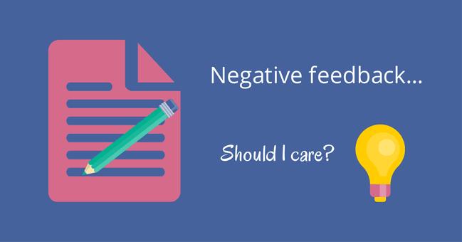 ¿Qué es Negative Feedback? ¿Me debería preocupar?