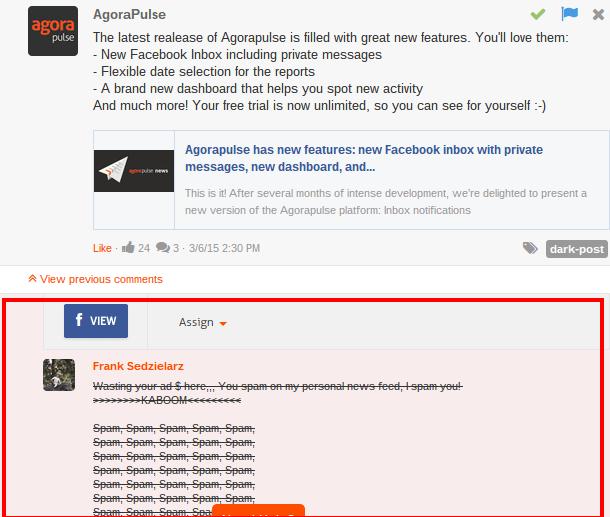Responder a Comentarios en tus anuncios - Dark Posts de Facebook