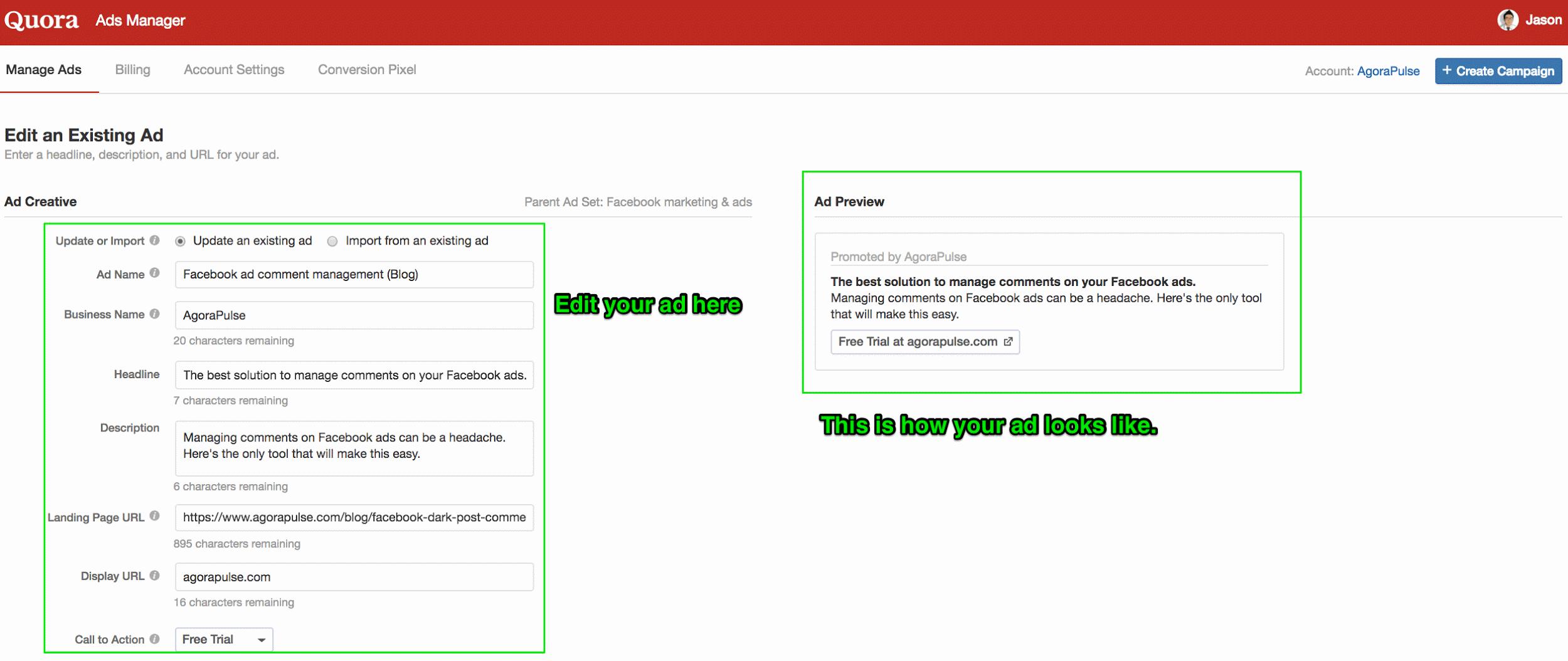 run ads on quora