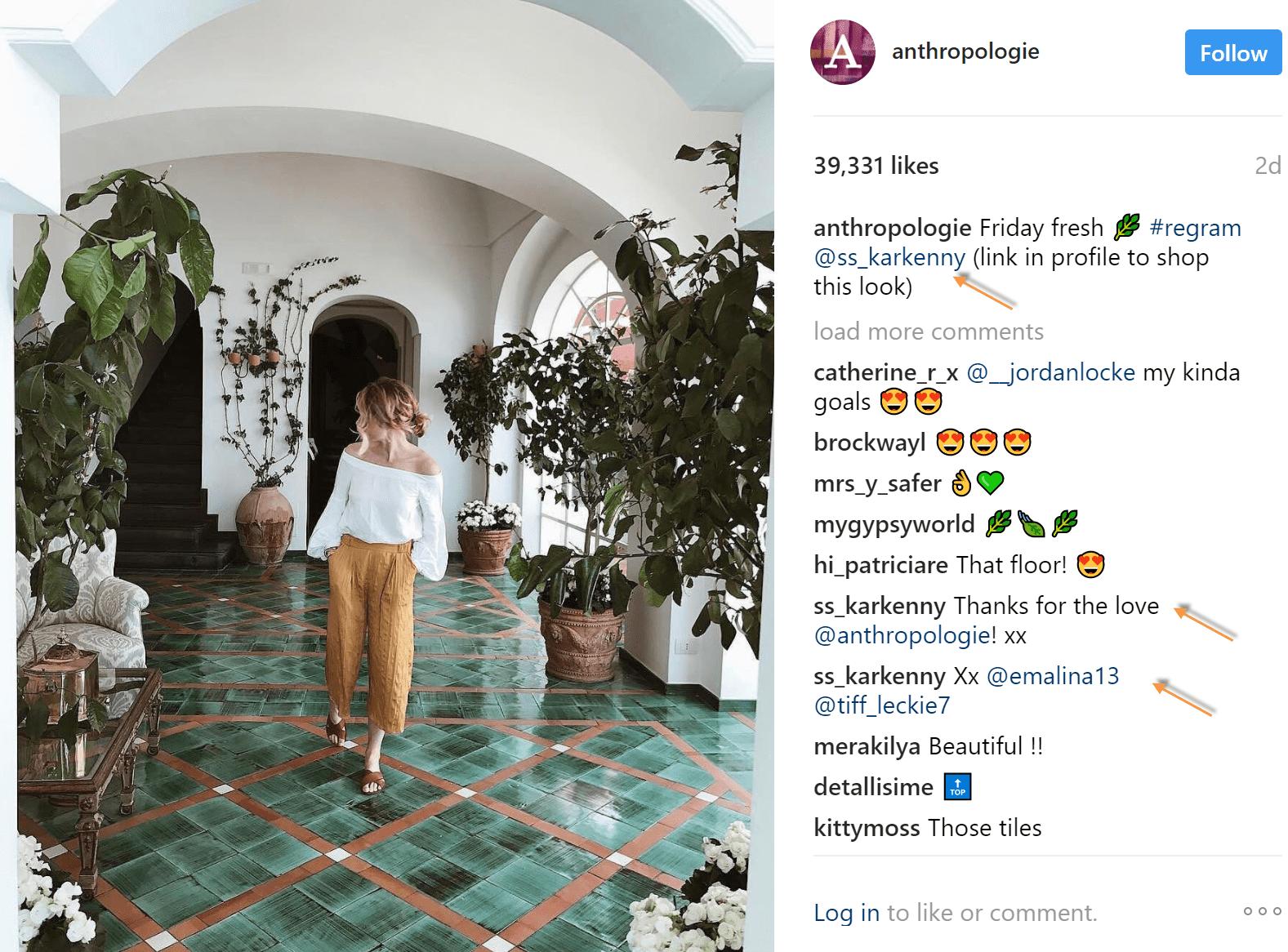 repost on instagram thanks