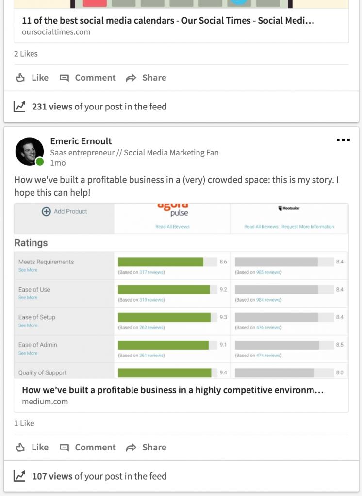 LinkedIn Screenshot step 3
