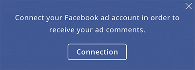 multiple ad account comments-- connect your Facebook ad account to Agorapulse