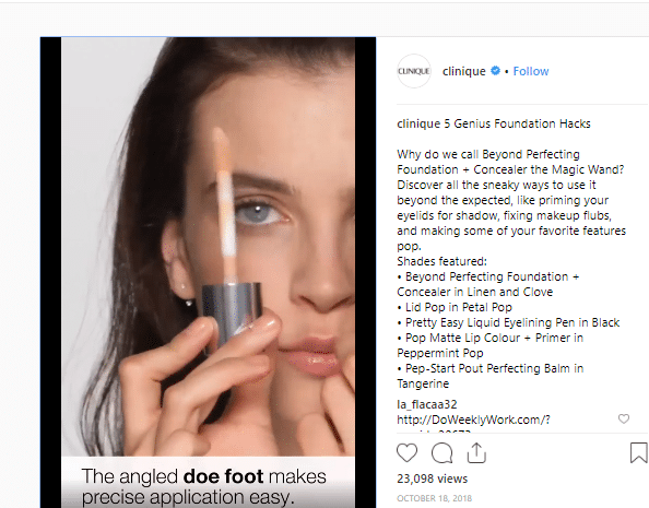 instagram content how-to example